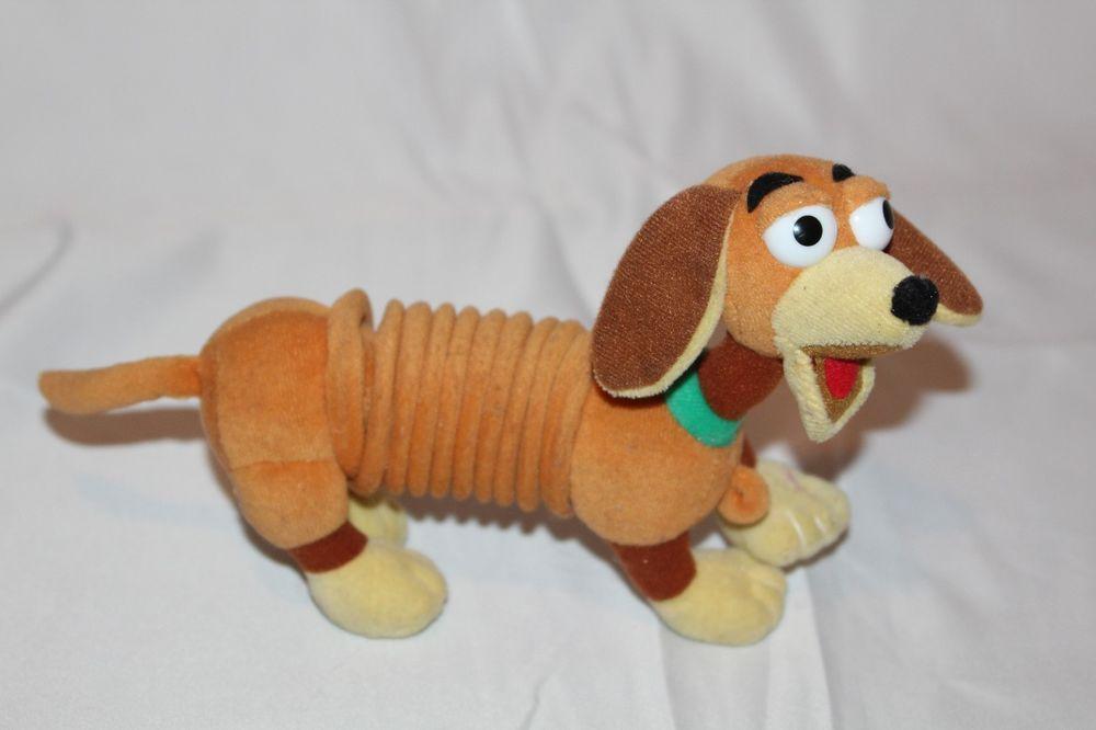 Disney Pixar Toy Story Slinky Dog Plush Stuffed Animal Hotdog