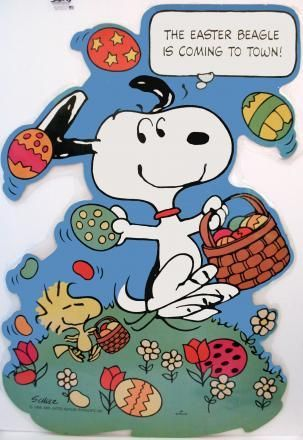 The Easter Beagle Easter Beagle Snoopy Easter Snoopy Love