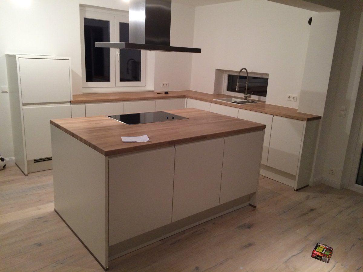 neue küche ist da  küche eiche