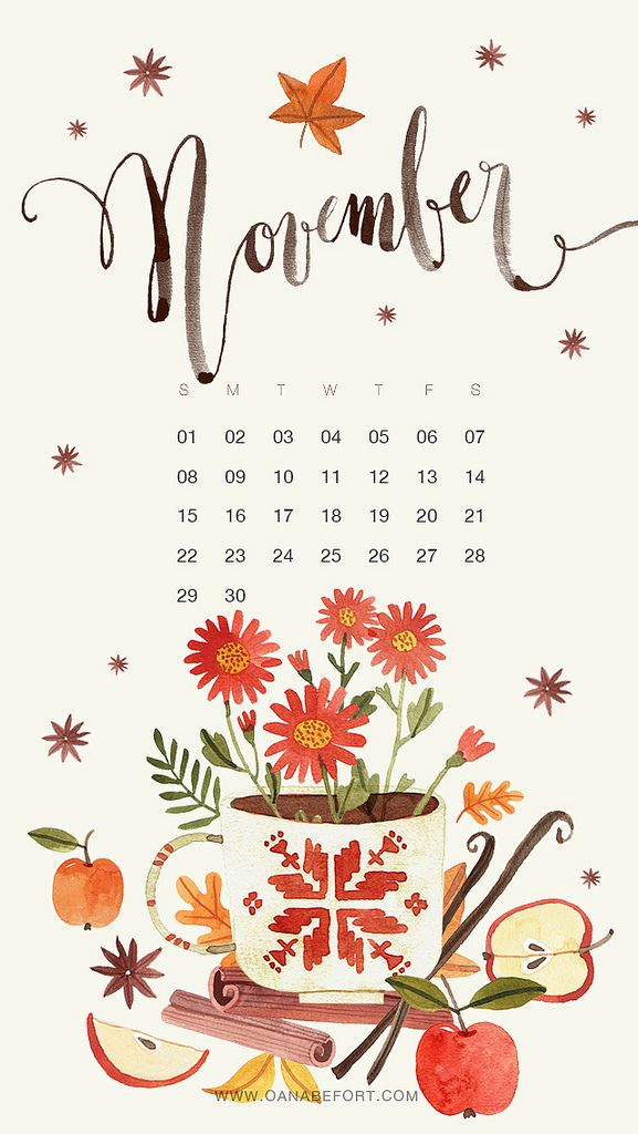 Iphone Calendar Wallpaper November : November iphone ideas for calendar