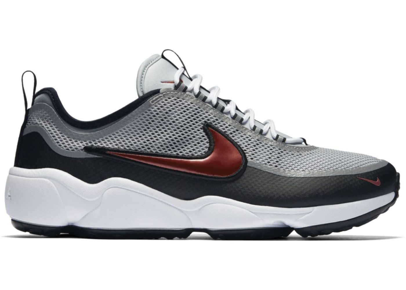 c9247f75f8125 Nike Air Zoom Spiridon Ultra - metallic silver desert red - size 13
