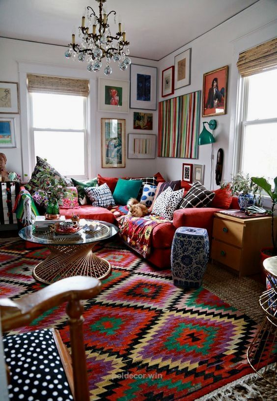 20 Elegant Living Room Colors Schemes Ideas Bohemian Living Rooms Boho Living Room Bohemian Living Room