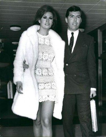Raquel Welch Crochet Wedding Dress