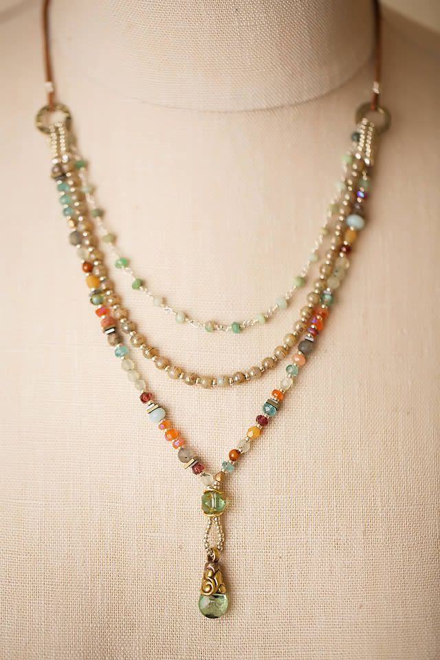 Pin by Kim Andrews on Jewelry Necklaces | Pinterest | Beads and ...