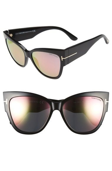 52bf4c909e39 Tom Ford  Anoushka  57mm Gradient Sunglasses available at  Nordstrom ...