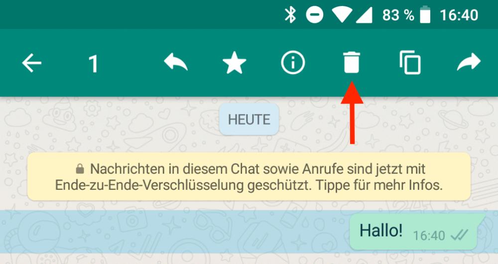 WhatsApp-Nachrichten kann man jetzt zurückholen - dafür