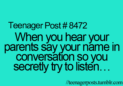 "it's like ur with ur friend: ""Oh yeah, I think listening to someone else's conversation is so ru- hold on a second."" :)"