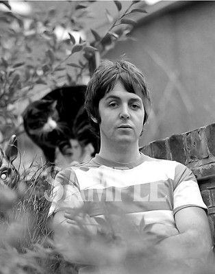"The Beatles Paul McCartney Photo Print 14 x 11/"""