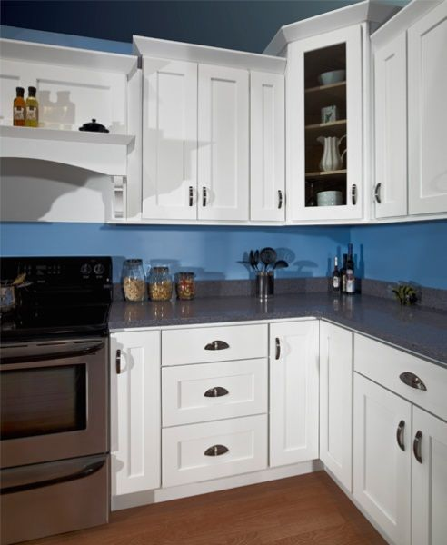 Kraftmaid White Kitchen Cabinets: Pin By Jennifer Lindsey On .TANAGER. Kitchen