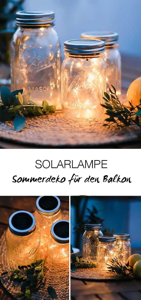 Photo of Sommerdeko Solarglas