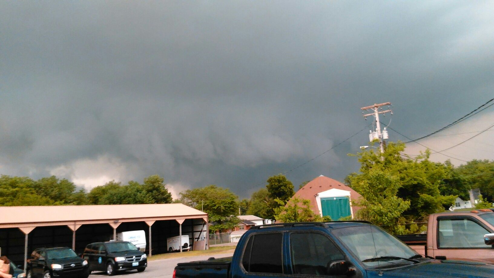 Storm clouds in Christian County, KY at Weather Spotter Operation ...