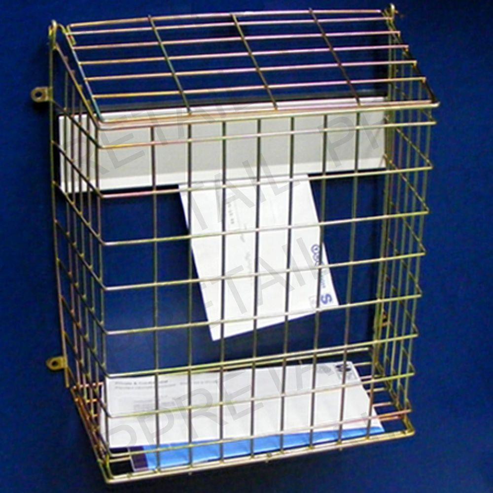 details about letterbox cage door letter mail box guard. Black Bedroom Furniture Sets. Home Design Ideas