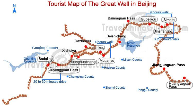 China Great Wall Sections in Beijing - TravelChinaGuide.com | China ...