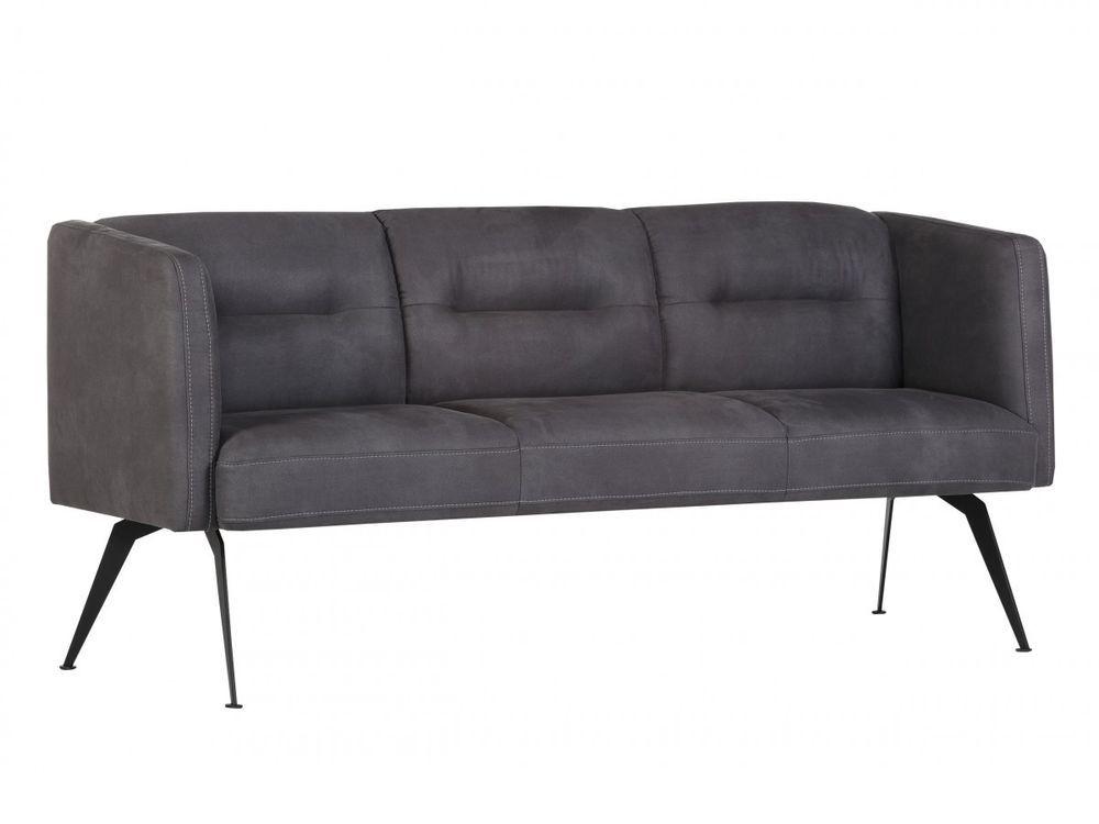 Massive Holzmoebel Sofa Cazombo 3sitzer Stoff Grau Eine Charmant
