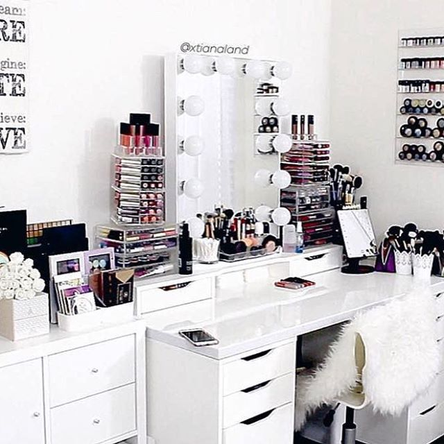 Pin by KatKrazy2121 on Makeup Vanities | Pinterest | Acrylic ...