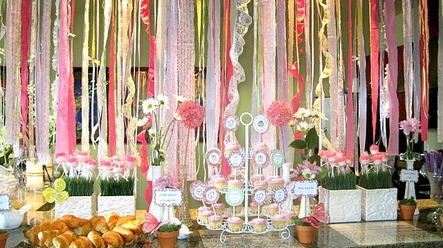A Garden Party Baby Shower Baby Shower Parties Baby Shower