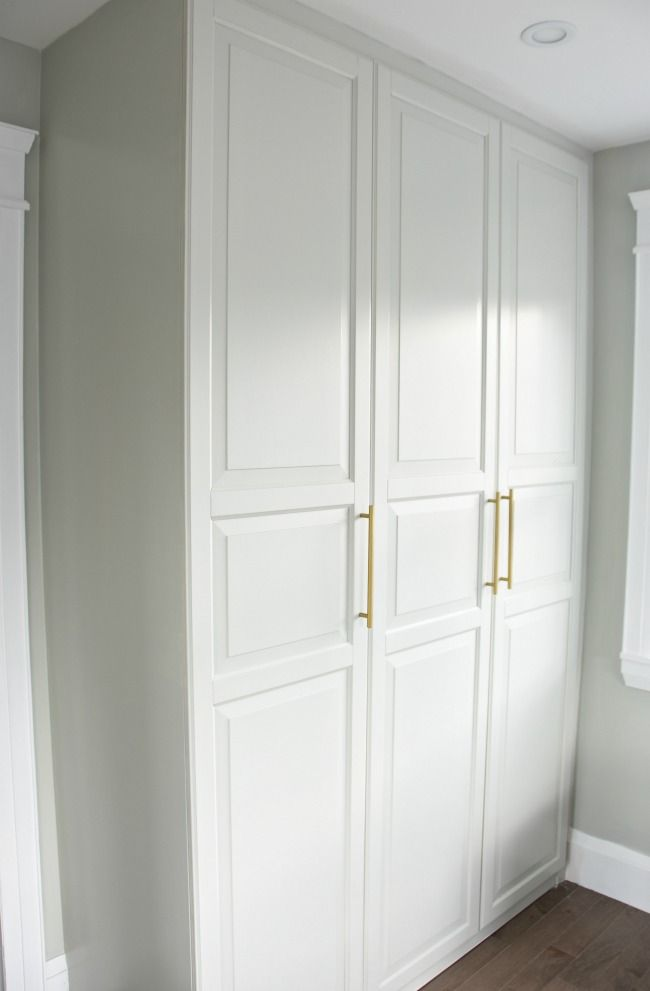 Get A Stunning Closet With This Ikea Pax Hack Build A Closet Ikea Pax Ikea Pax Wardrobe