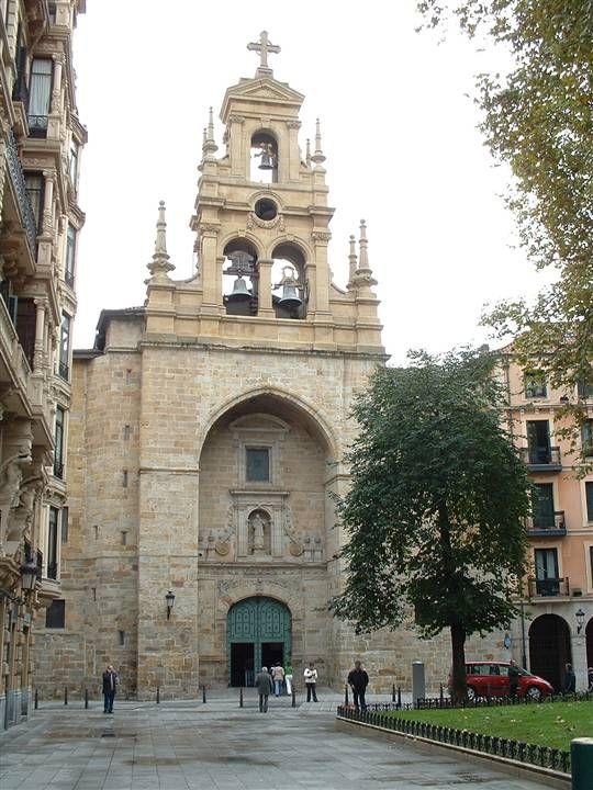 Iglesia De San Vicente Mártir Bilbao Bilbao San Vicente Novelas De Misterio