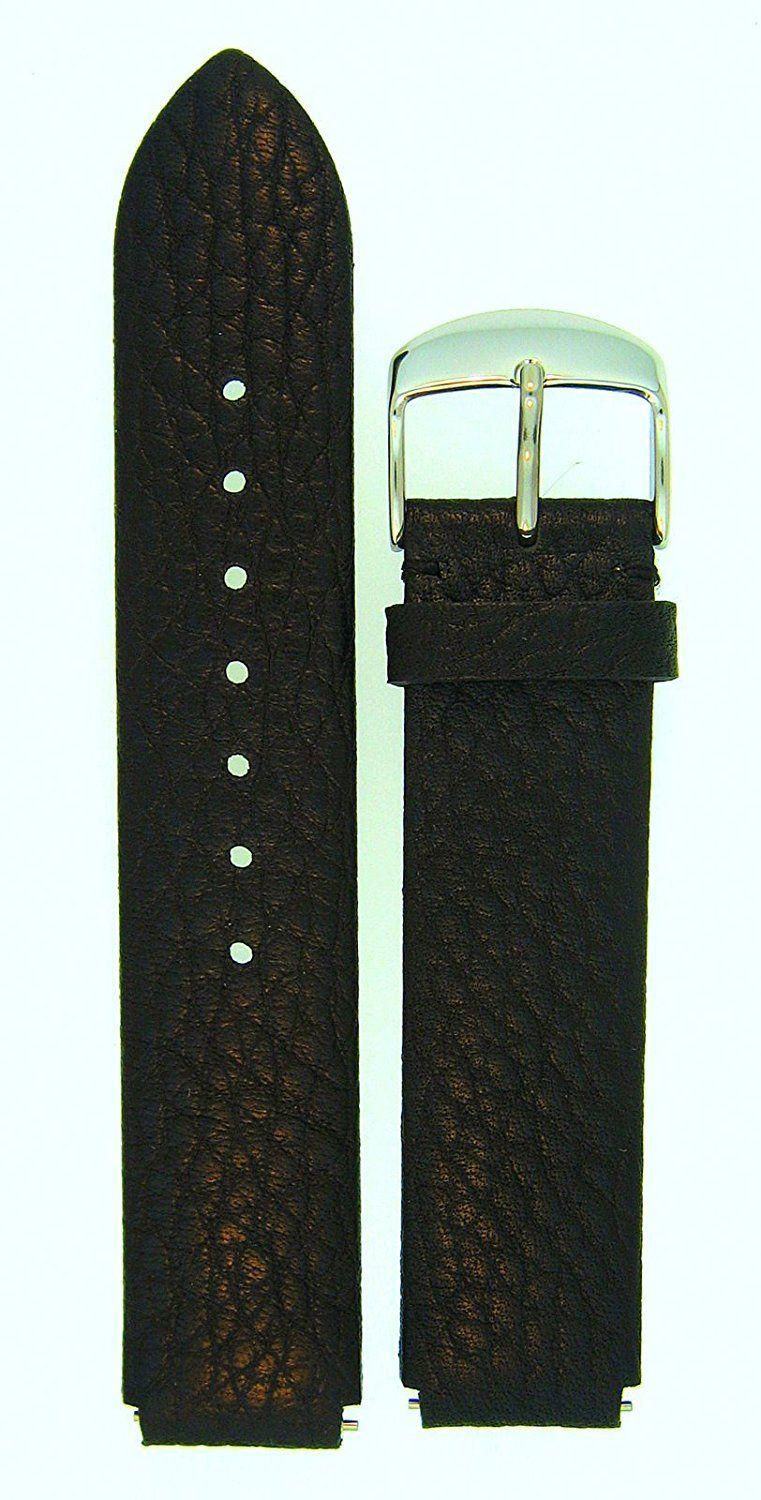 Leather Watchband Fits Philip Stein Large Size 2, 20mmÂ
