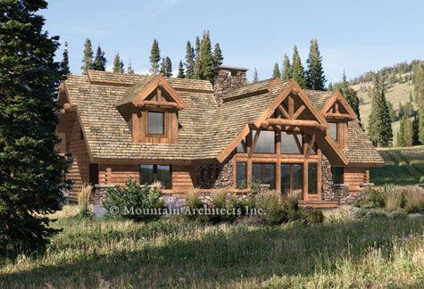 Precision Craft Pinegrove floorplans – Precision Log Home Floor Plans