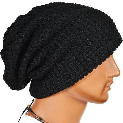 Women Summer Spring Winter Crochet Knit Slouchy Beanie Beret Cap Men Ski Hat New