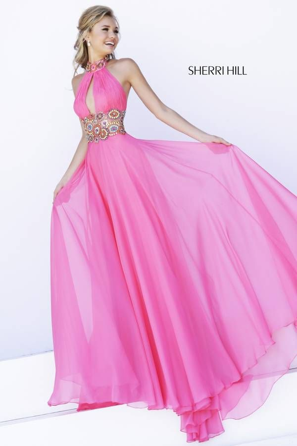 Sherri Hill 32225 | Cherry/Fuchsia | Pinterest