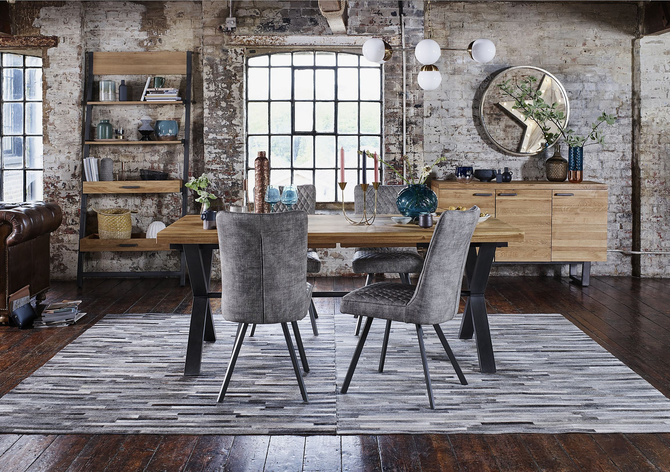 90ad6fb933 Earth Large Dining Table and 6 Chairs | Ideas for the House | Table ...