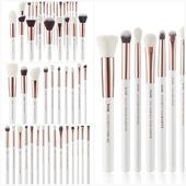 Photo of Professional Makeup Brush for Pearl White / Rose Gold This picture has 1 … -…