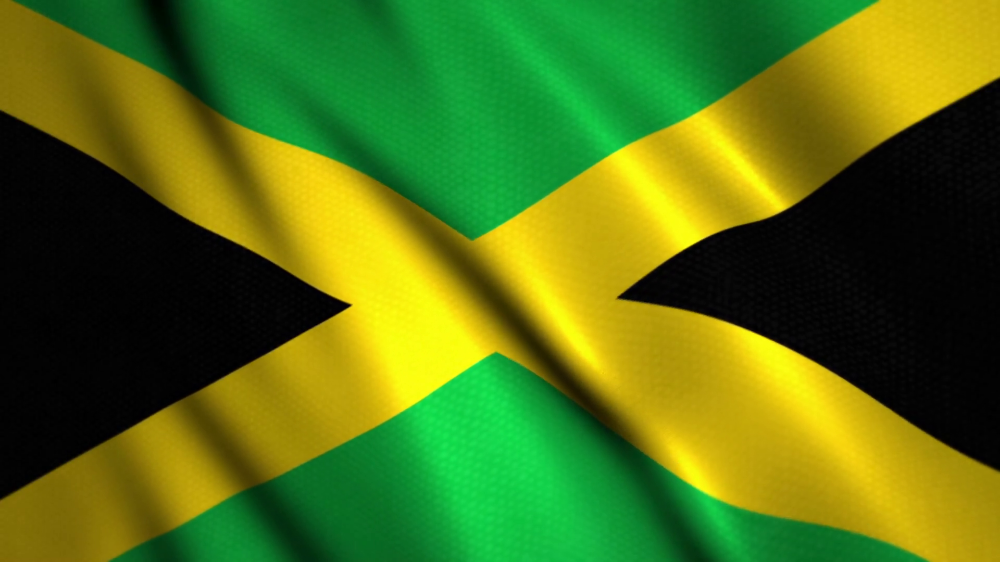 Jamaica Flag Waving Google Search Jamaica Flag Animation Background Caribbean Gift