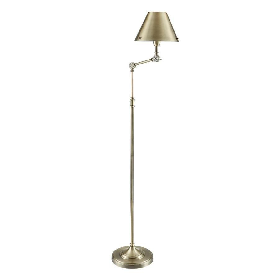 Boston Loft Furnishings Lyra 64 In Bronze Shaded Floor Lamp