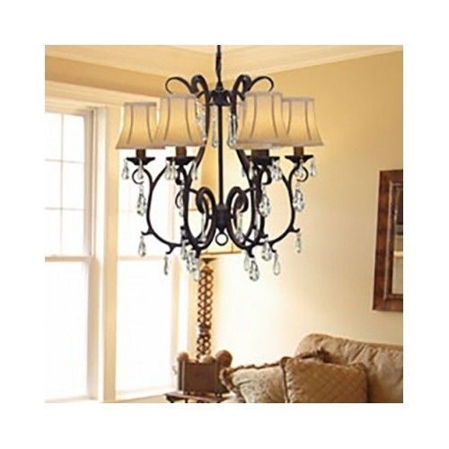 Versailles Wrought Iron Chandelier Perfect For The Formal Dining Room