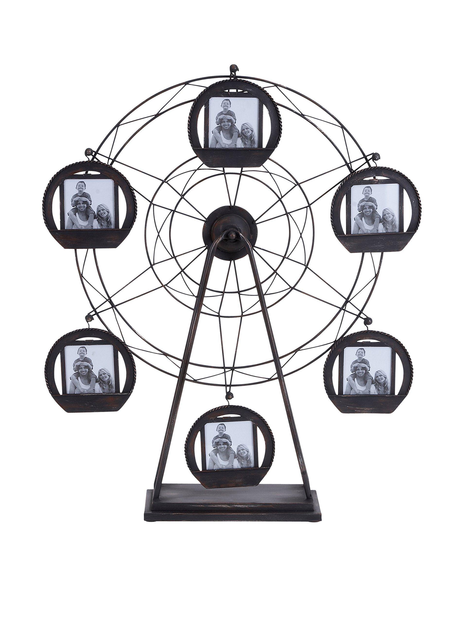 Benzara Ferris Wheel 6-Photo Frame at MYHABIT | ⊱•⛅•⛲• Mirrors ...