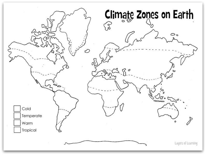 Blank map of world climate zones ora exacta blank map of world climate zones blank world maps to label world map blank worksheet tropical gumiabroncs Images