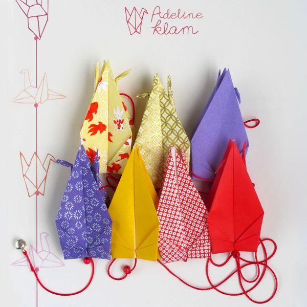 Guirlande d'origami n°13
