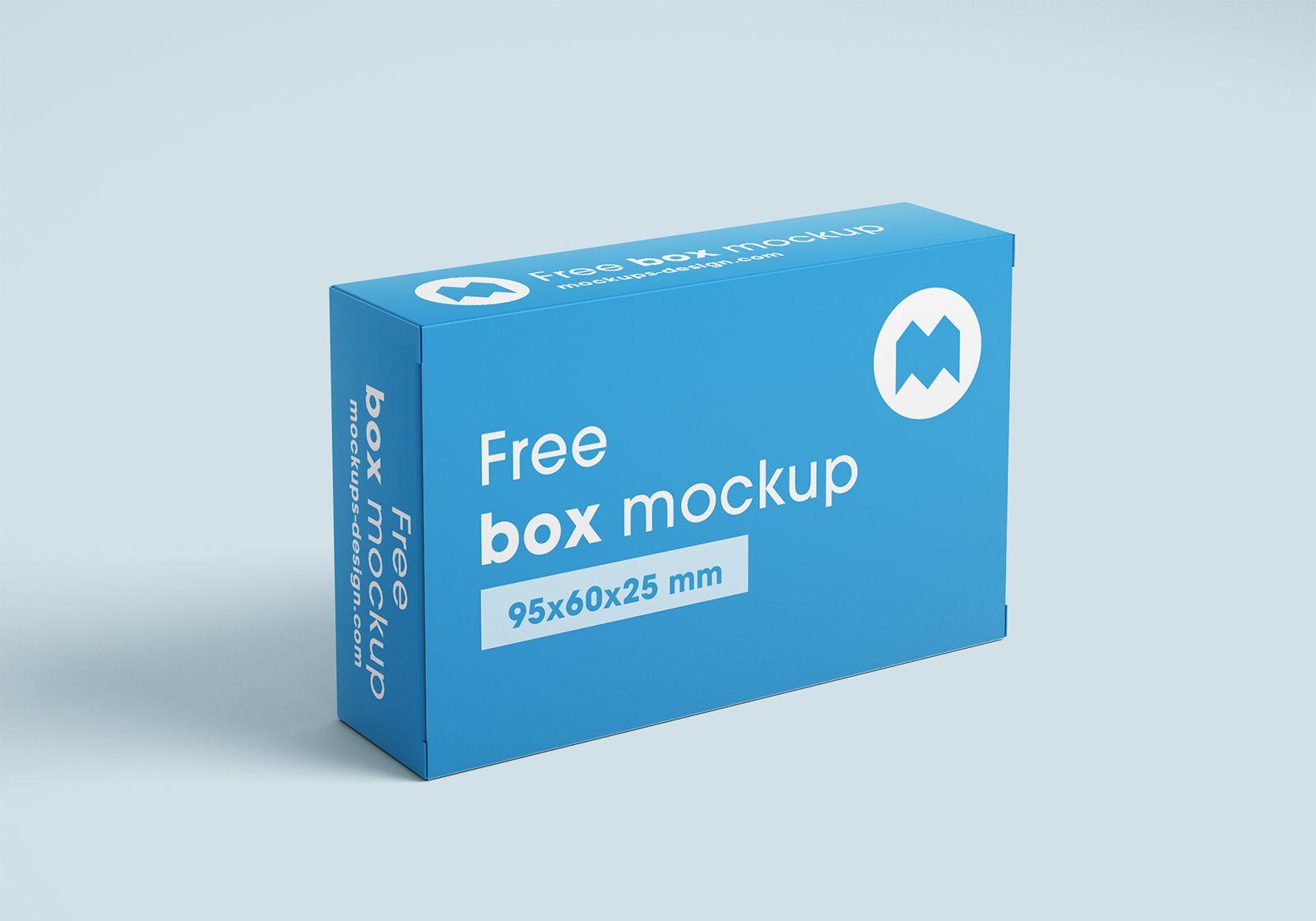 Free Box Psd Mockup Free Packaging Mockup Free Boxes Branding Mockups Free