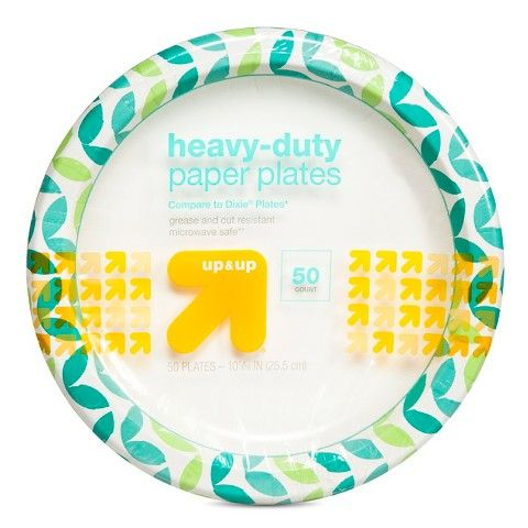 Heavy Duty Disposable Paper Plates - 10  - 55ct - up u0026 up™  sc 1 st  Pinterest & up u0026 up™ Heavy Duty Paper Plates - 10