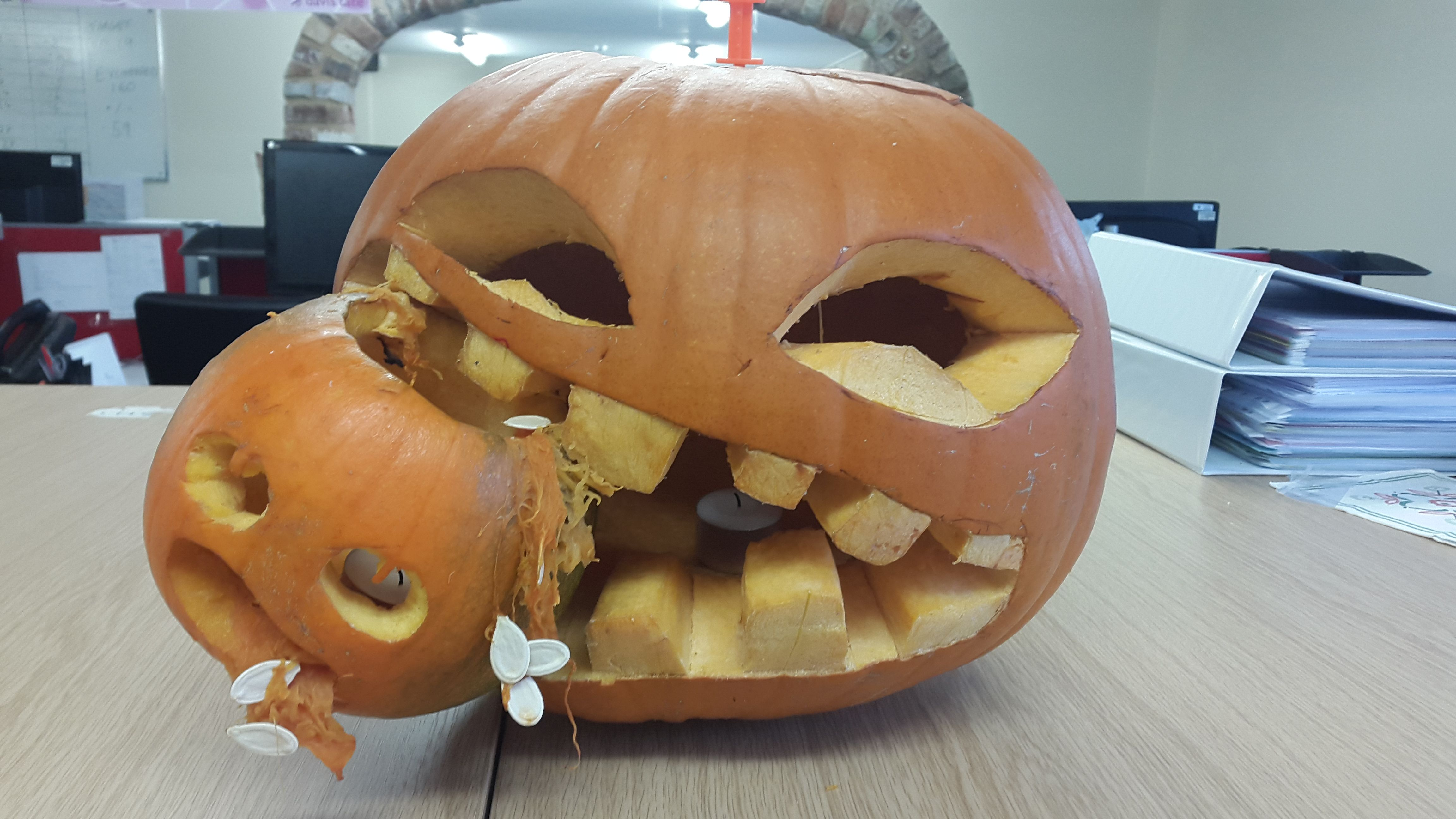 The next entry was sent in from Lucy Blockley and the team from Edgcotes. Very creative.
