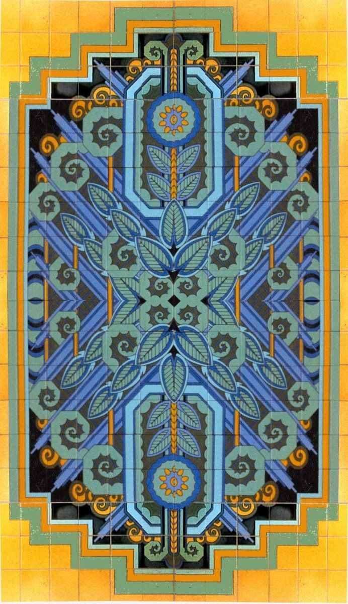 art deco wall panels - Google Search | Color Palettes ...