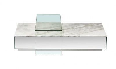 Lucio Modern Coffee Table White