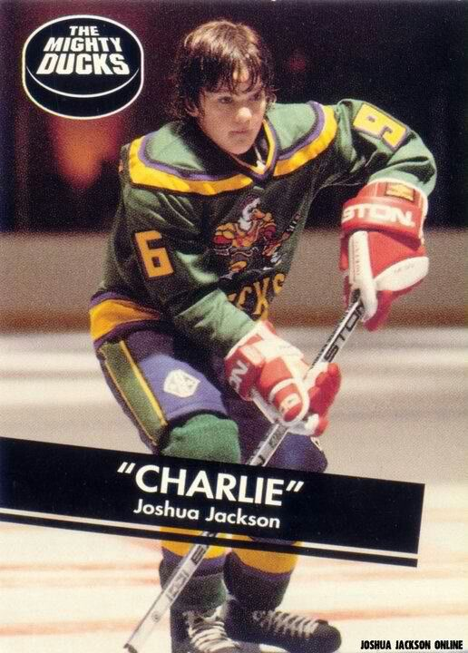 d2add4865 Before he was Pacey....or Peter...he was Charlie on The Mighty ducks ...