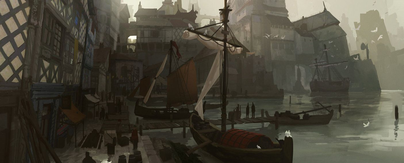 Fantasy Art Harbour