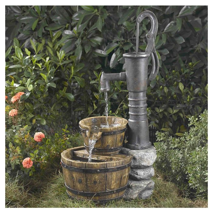 Water Pump Outdoor Fountain Water Fountains Outdoor Fountains Outdoor Garden Water Fountains