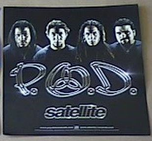 P.O.D. - Album Cover Poster Flat