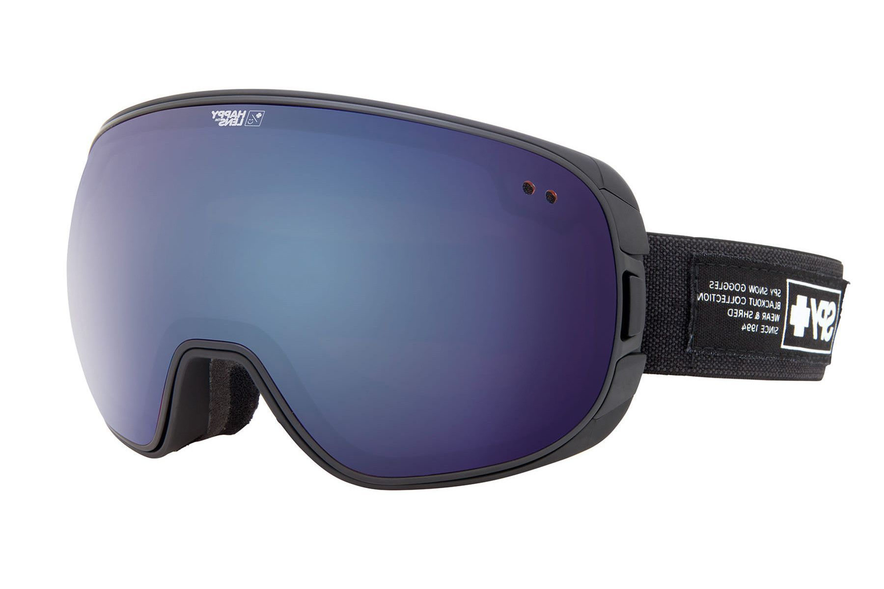 Spy - Bravo Nocturnal Goggles, Happy Bronze W/ Dark Blue Spectra (+Happy Rose W/ Green Spectra) Lenses