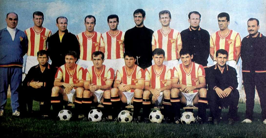 Fevzi, Ali, Gürselli efsane Göztepe kadrosu. | Spor, Futbol, Hayat