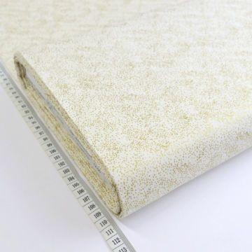 John Louden - Glitter Dot - Ivory/Gold | Christmas fabric ...