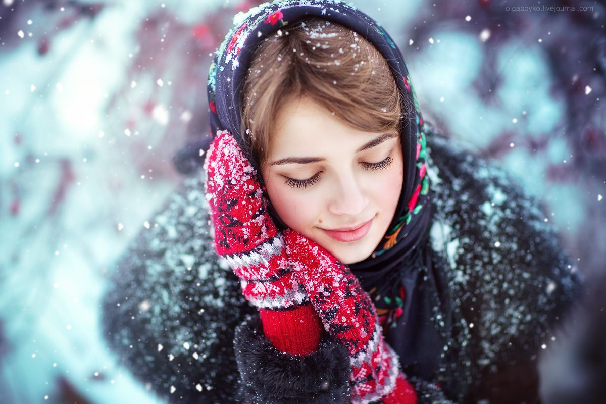 Картинки зимних фотосессий