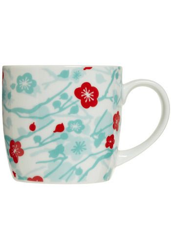 Love the print on this mug - Cup O' Cherry Blossom Mug, #ModCloth