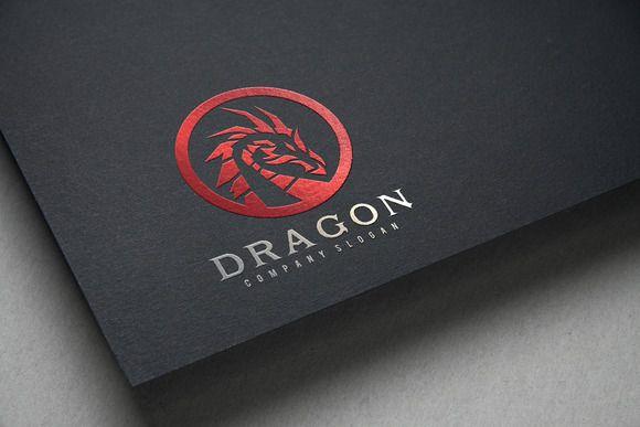 Dragon by Super Pig Shop on Creative Market