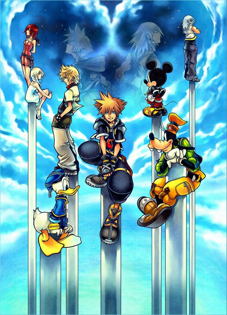 Pin By Aliya Miccio On Kingdom Hearts Kingdom Hearts Wallpaper